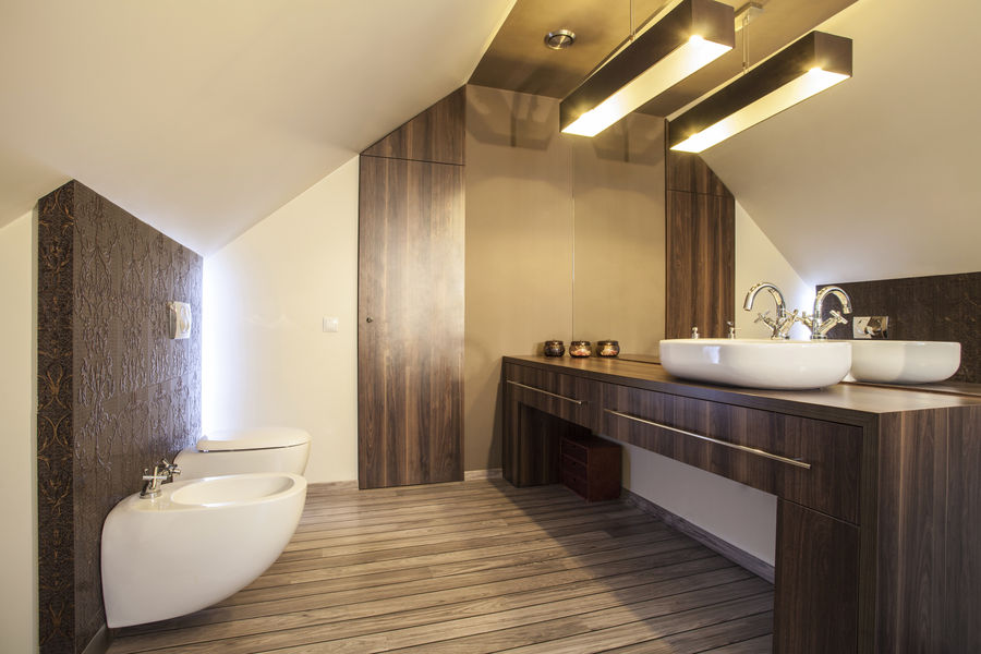 Beautiful Salle De Bain Contemporaine Photos  Amazing House Design