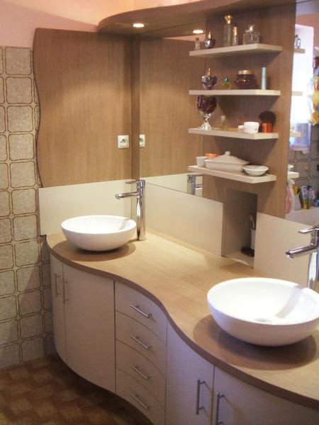 Menuisier b niste fabrication et pose de salle de bain for Salle de bain japonaise traditionnelle
